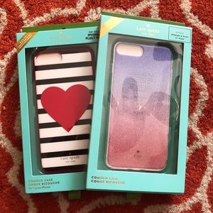 New Kate space iPhone 7/8+ cases